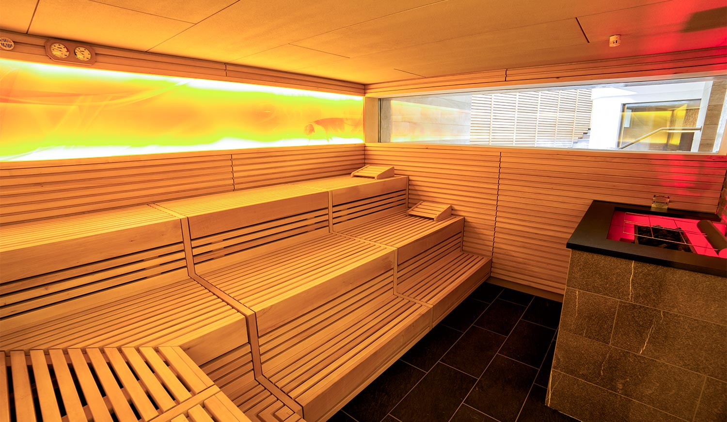 sauna in bozen s dtirol die spa des hotel ideal park. Black Bedroom Furniture Sets. Home Design Ideas